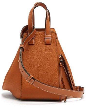 Hammock Small Leather Tote Bag - Womens - Tan