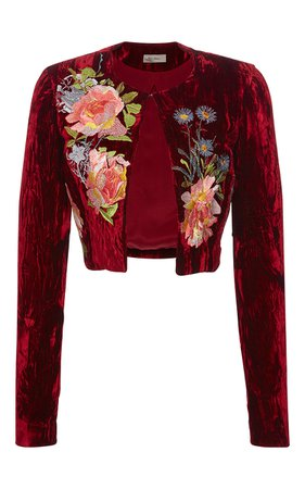 Alice Archer Desiree Cropped Jacket