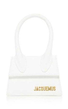 jacquemus mini bag in white