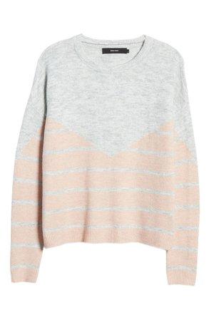 VERO MODA Colorblock Stripe Sweater | Nordstrom