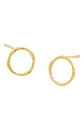 gorjana Quinn Delicate Stud Earrings | Nordstrom