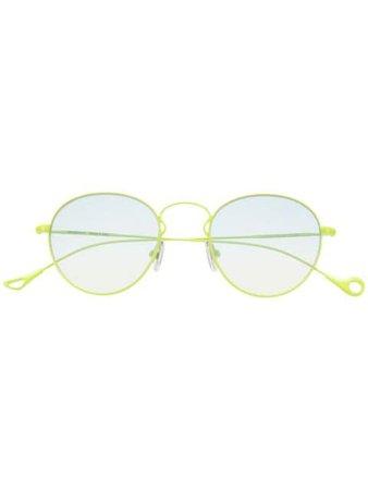 Eyepetizer JULIEN Round-Frame Sunglasses JULIEN Green | Farfetch
