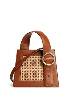 Bamboo Enchanted Top Handle Bag by Parisa Wang