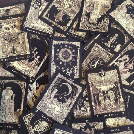 Tarot - Aesthetic - Witch - Cards