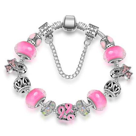 Google Image Result for https://ae01.alicdn.com/kf/HTB1psiCtIfpK1RjSZFOq6y6nFXa6/KEORMA-Antique-Silver-bracelets-for-women-Murano-Glass-Bead-Crystal-Breast-Cancer-Awareness-Pink-Ribbon-Charms.jpg