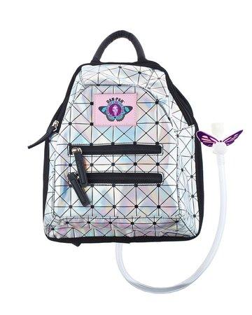 Dan-Pak Holographic Disco Mini Backpack