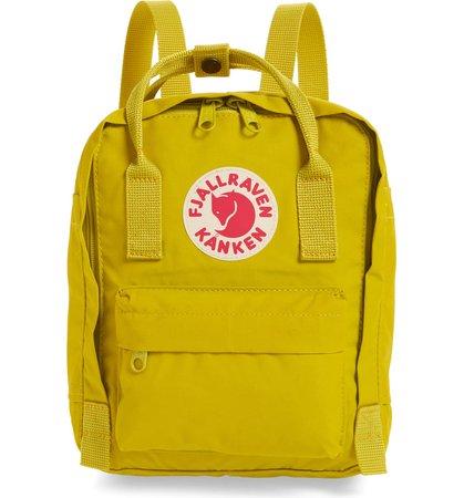 Fjällräven 'Mini Kånken' Water Resistant Backpack (Nordstrom Exclusive Color) | Nordstrom
