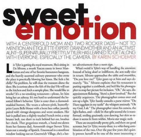 emotion text