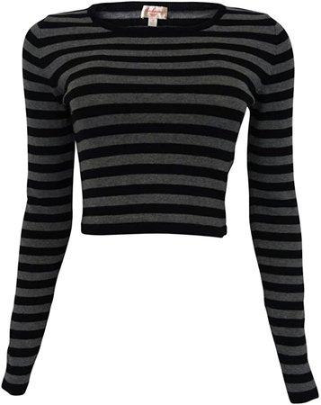 Long sleeved black shirt