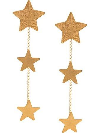 Mercedes Salazar long Star earrings