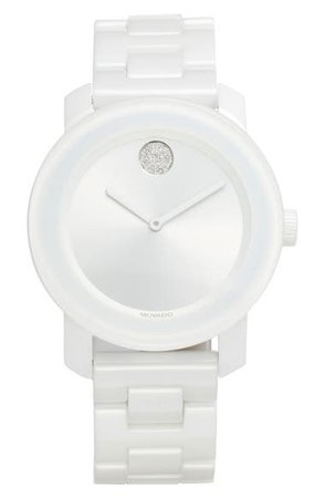 Movado Bold Ceramic Bracelet Watch, 36mm | Nordstrom