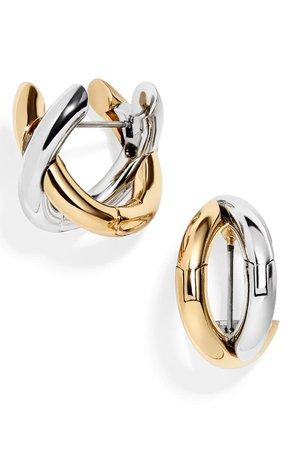 BaubleBar Aiko X-Hoop Earrings | Nordstrom