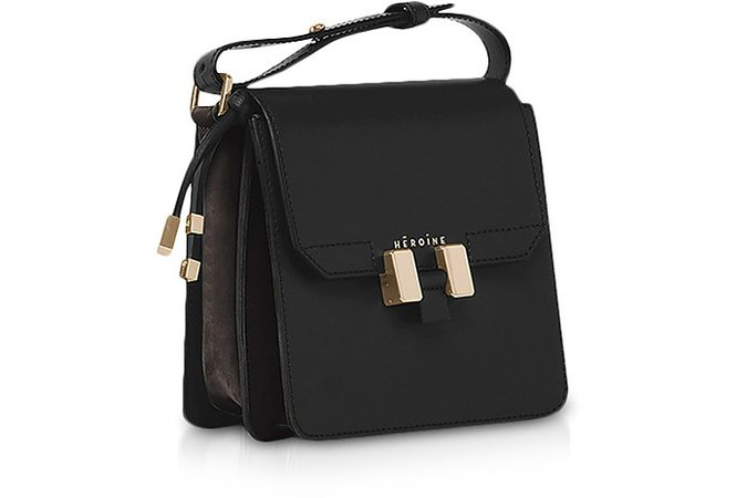 Maison Héroïne Black Tilda Phone Mini Bag at FORZIERI