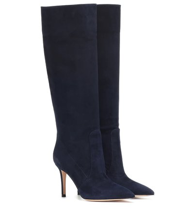 Susan 85 Suede Knee-High Boots | Gianvito Rossi - Mytheresa