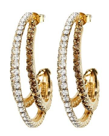 Rock Crystal Earrings | INTERMIX®
