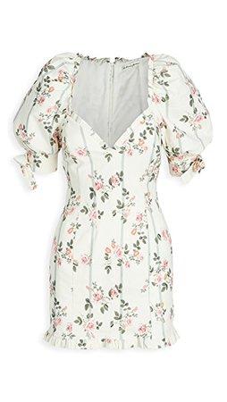 For Love & Lemons Rose Stripe Mini Dress   SHOPBOP