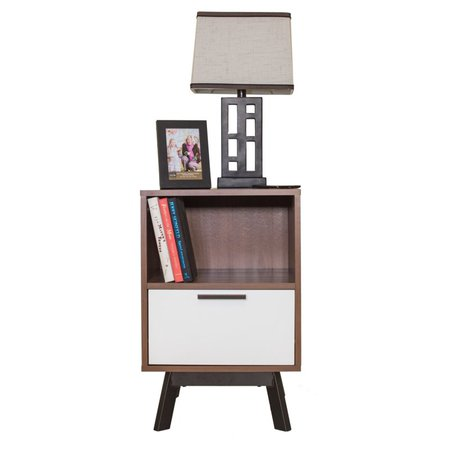 Zipcode Design Sheyla 1 Drawer Nightstand & Reviews | Wayfair.ca