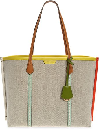 Perry Canvas Tote