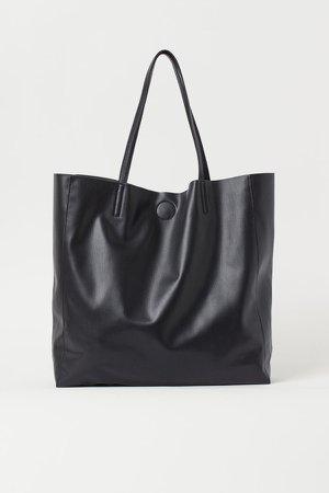 Large Shopper - Black