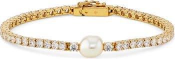 Boheme Imitation Pearl Tennis Bracelet | Nordstrom
