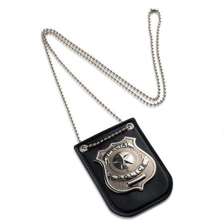 Costume police badge