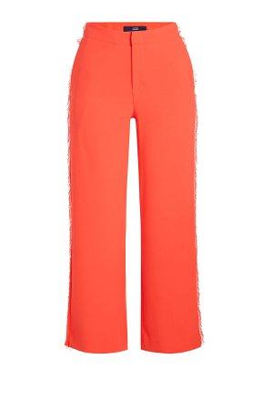 Cropped Pants with Lace Gr. DE 42