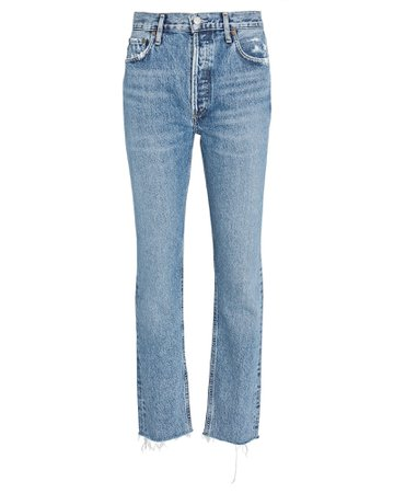 AGOLDE Jamie High-Rise Skinny Jeans | INTERMIX®