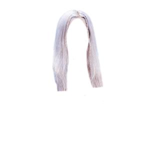 ROSE BLACKPINK HAIR PNG [Blue/White/Blonde] Little Braids