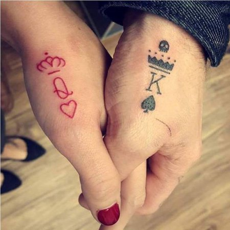 Queen and King Tattoos