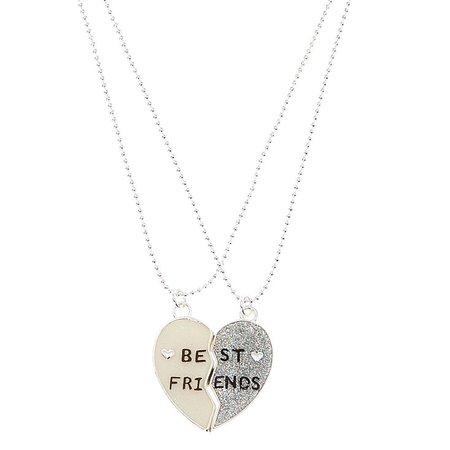 Broken Heart Best Friends Necklaces | Claire's US
