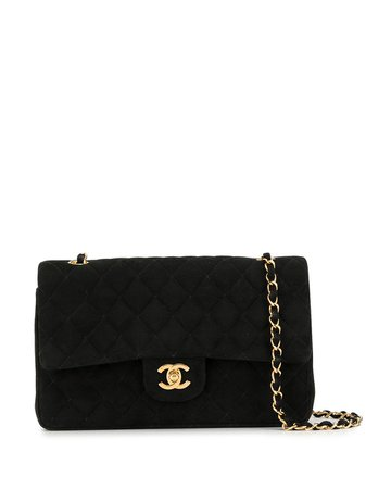 Chanel Pre-Owned 1998 Quilted Double Flap Shoulder Bag - Farfetch