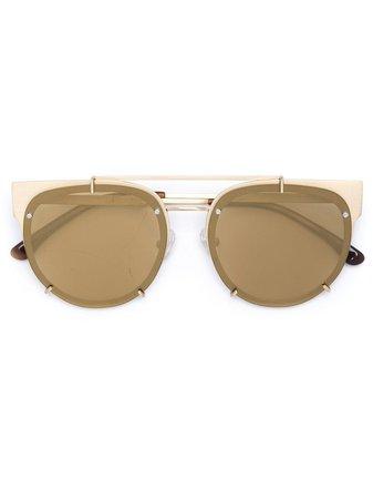 Vera Wang Round Frame Sunglasses - Farfetch