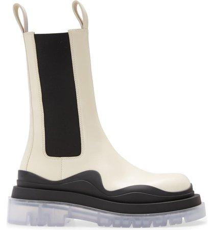 Bottega Veneta BV Tire Clear Sole Chelsea Boot (Women) | Nordstrom