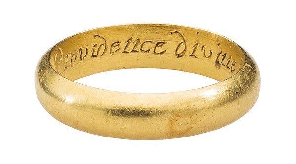 plain gold ring old