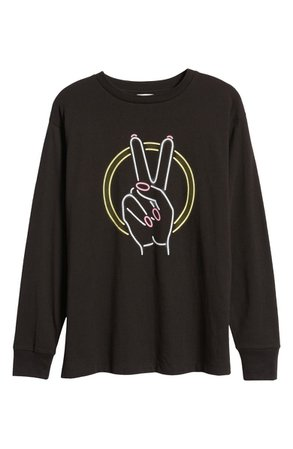 BP. Women's The Time Is Now Graphic Long Sleeve Tee | Nordstrom