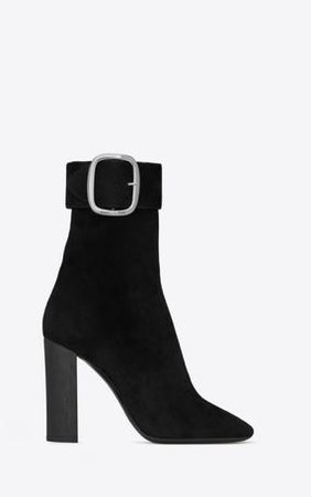 FrenchEconomie™ Fab Fall Shoes 2018 Yves St Laurent Joplin Buckle Bootie