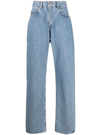 Levi's: Made & Crafted High Waisted wide-leg Jeans - Farfetch