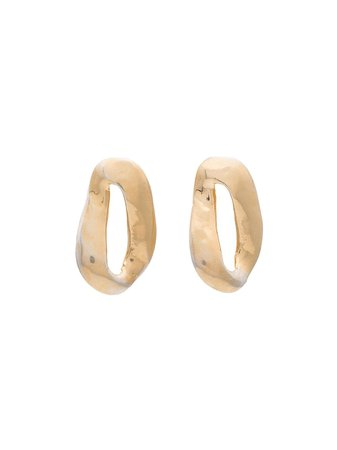 Marni Chunk hoop earrings $250 - Buy Online - Mobile Friendly, Fast Delivery, Price
