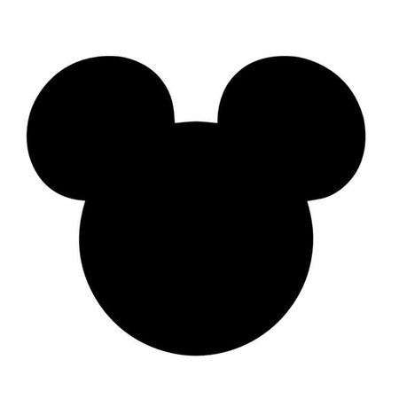 Mickey Mouse Head Mouse Ears Stencil Made from 4 Ply Mat Board   Etsy