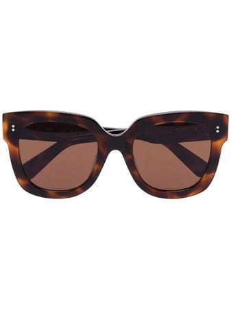 Chimi Tortoiseshell-Effect Square Sunglasses Ss20 | Farfetch.com