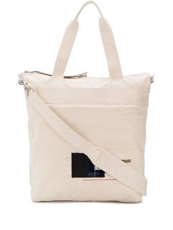Rick Owens DRKSHDW off white tote bag