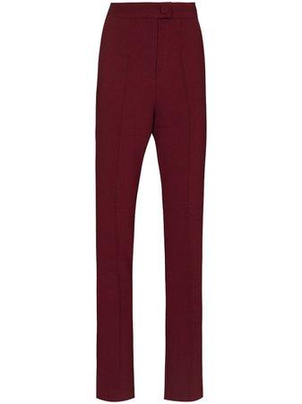 Materiel side split tailored trousers - FARFETCH