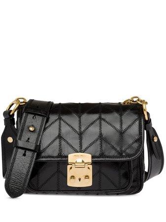 Miu Miu, Stitch Detail Shoulder Bag