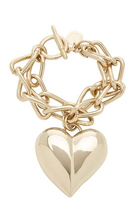 Heart Chain Bracelet By Carolina Herrera | Moda Operandi