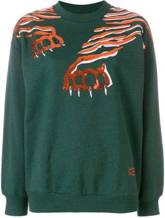 Geo Tiger sweatshirt