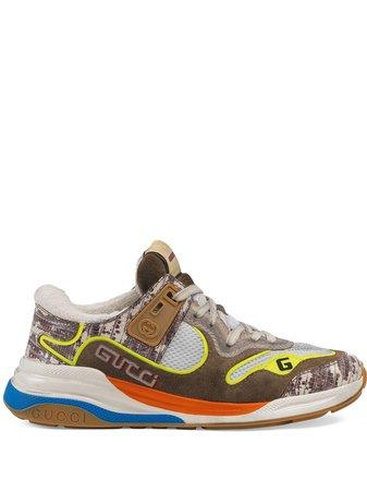 Brown Gucci Ultrapace Sneakers | Farfetch.com
