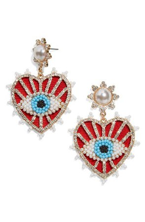 BaubleBar Ojo Evil Eye Earrings | Nordstrom