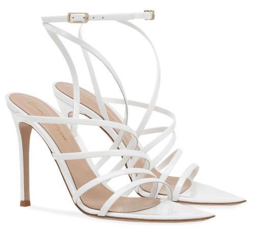 GIANVITO ROSSI White Eclypse Heels