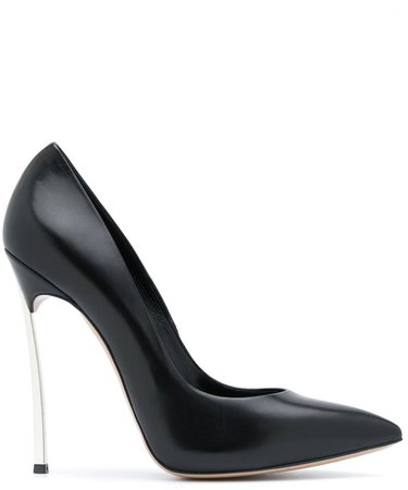 Blade 115mm leather pumps