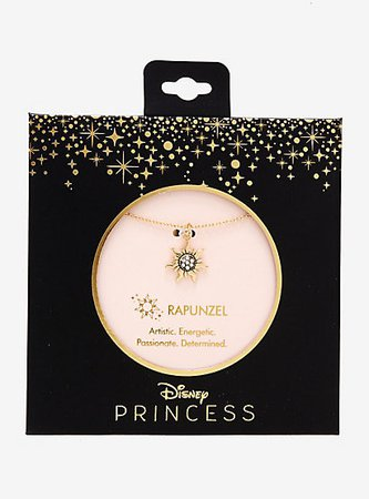 Disney Princess Rapunzel Dainty Charm Necklace